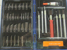 48-pc HOBBY KNIFE SET INCLUDES 6 KNIVES AND 42 DIFFERENT BLADES ~NEW~