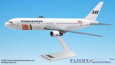 Flight Miniatures SAS Scandinavian Boeing 767-300 1:200 Scale REG#SE-DOC New