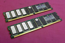 2GB Kit 261585-041 SimpleTech HPQ00-21183-604SE PC2100 DDR1 ECC Server Memory