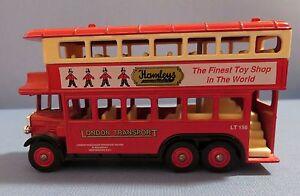 DAYS GONE BY HAMLEY'S DOUBLE DECKER BUS BY LLEDO