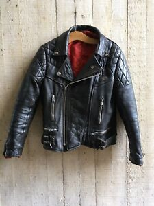 Rare 70's Lewis Leathers Aviakit Nevada Motorcycle Jacket