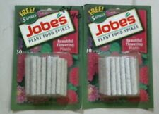 Jobe's Plant Food Spikes, 30 Spikes, 1.4oz. Lot Of 2, Fertilizer, Free Shipping