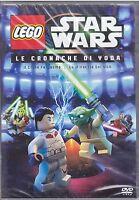 Dvd LEGO STAR WARS ♦ LE CRONACHE DI YODA ♦ IL CLONE FANTASMA+LA MINACCIA DEI SIT
