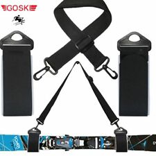 Ski and double cross country Nordic skiing snowboard snow board