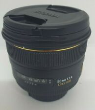 Sigma 50mm 1:1.4 EX DG HSM Lens for Nikon LF-4