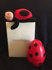 Rare Anne Geddes Ladybug Egg in Original Box