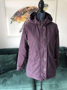 Womens Merrell Opti-shell Purple Jacket Size Medium M