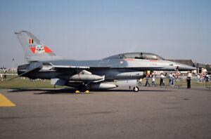 FB15 F16B Belgium AF Original Military Slide