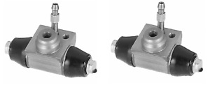 Delphi Rear Pair Wheel Brake Cylinder VW Volkswagen Polo Lupo Seat Arosa Audi A2