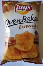 NEW Lay's Oven Baked Barbecue Flavored Potato Chips Snacks FREE WORLD SHIPPING