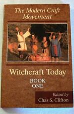 Witchcraft Today: The Modern Craft Movement Bk. 1 by Chas S. Clifton 1991 Wicca