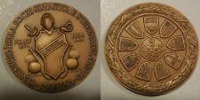 medaglia centenario soc. ginnastica e scherma del Panaro Modena 1870-1970 CONI