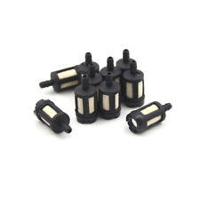 10pcs Universal Black Fuel Filters Chainsaw Trimmer Tools Parts HGUK