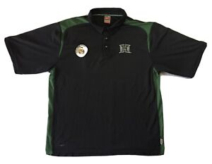 Vintage Nike Men's Dry Fit University Of Hawaii Polo Shirt Embroidered Size XL