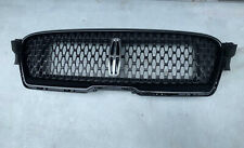 For Lincoln MKZ 2017 2018 2019 Front Upper Grill Bumper Mesh Grille Glossy Black