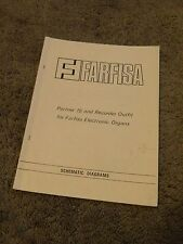Farfisa Electronic Organ Partner 15 Recorder Outfit Schematic Diagram Manual