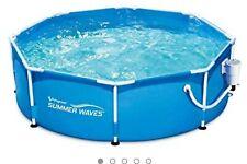 Summer Waves 10 Ft Active Frame Pool 10ftx30in Nib
