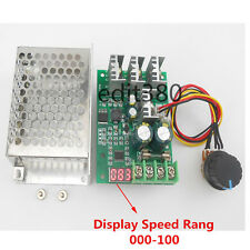 30A DC 6V 12V 24V Adjustable PWM Motor Speed Controller Switch With LED Display