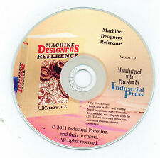 Machine Designer's Reference by J. Marrs, P.E. ON CD-ROM in PDF