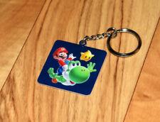 Super Mario Galaxy 2 Promo Schlüsselanhänger Keychain Nintendo 2010 Wii U Yoshi