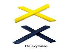 Galaxy Earsocks Rubber Kits Oakley Jawbone,Split,straight Jacket Black/Gold
