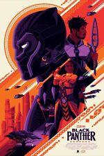 Marvel Black Panther Tom Whalen Screen Print - MONDO artist - GreyMatter