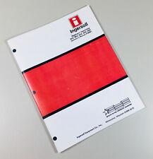Ingersoll 3016 3018 4016 4018 4020 Garden Tractor Operators Manual Owners Book