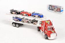 Camion a friction 50 cm + 6 voitures  Semi remorque  Jeux Jouet