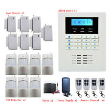 Danmini GSM LED PSTN Home Security Remote Control Wireless Burgler Alarm System