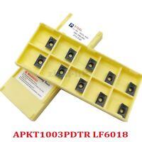 100pcs SP400 NC3020 GTN-4 Grooving Cut-Off Carbide Inserts 4mm Width ZQMX4N11-1E