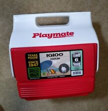 Igloo Playmate Mini 6 Can 3 Liter Capacity Cooler Red 4902415 Made in USA - NEW
