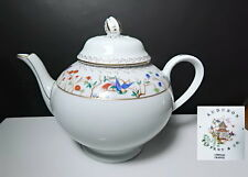 Tiffany & Co. China AUDUBON Teapot, Mint!
