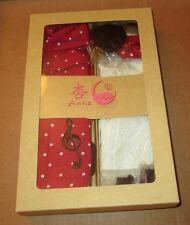 2006 Annz Doll Kimono Love Music in Red Similar In Size to Momoko