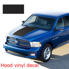 Car Solid Hood Vinyl Decal For Dodge Ram 1500 Truck Graphic Matte Blackout