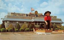 ZINN'S MODERN DINER Denver, PA Dutch Restaurant Roadside 1961 Vintage Postcard