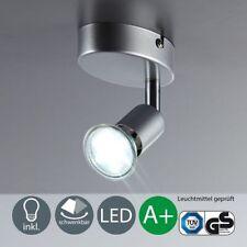 Deckenlampe LED Deckenleuchte Wohnzimmer GU10 Wand-Spot Lampe Leuchte B.K.Licht