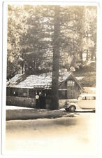 Real Photo Postcard Crystal Lake Store, San Gabriel Canyon in Azusa, CA~104175