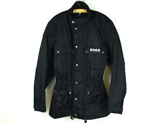 ROAD Motorcycle Polo Men's L Jacket + Removable lining Black Nylon Biker Coat