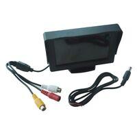 """MONITOR LCD 4,3"""" PER AUTO TELECAMERA RETROMARCIA DVD E5F1"""