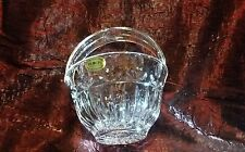 block crystal hand crafted poland hand candy bowl