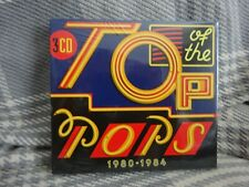 Top Of The Pops 1980-1984 - Various Artists 3xCD New - Free uk postage