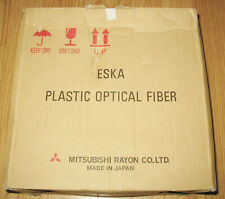 ESKA CK-40 1 mm High Performance Plastic Optical Fiber 1500 M NEW IN BOX Japan