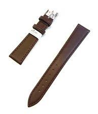 cinturino per orologio Morellato in vera pelle morbida marrone scuro 14 16 18 20