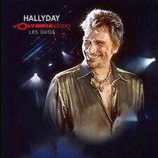 Johnny Hallyday du Coffret Olympia Story  Double Vinyle Olympia 2000 les duos