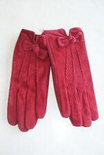 c3a1c1b91691b Paire de gants tactile rouge en cuir neuf taille L de marque DENTS 1777