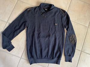 Herren Pullover Shirt von Redway  Navi  100% BW Gr.L Wie Neu