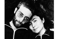 JOHN LENNON & YOKO ONO UNSIGNED PHOTO - 5674 - THE BEATLES