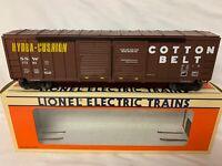 ✅LIONEL COTTON BELT 50' DOUBLE DOOR STD. O BOXCAR 6-17203 NEW! O SCALE TRAIN