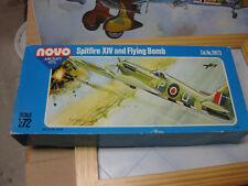1:72 NOVO  Supermarine Spitfire F. Mk.XIV and V1 flying bomb