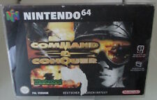 Command and Conquer (Nintendo 64) PAL OVP/Modul/Anleitung